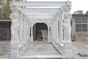 Decorative outDecorative outdoor large marble gallerydoor large marble gallerys