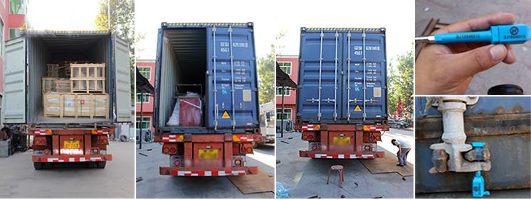 packing of marble gazebos or iron gazebos